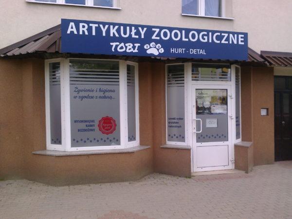 Artykuły zoologiczne Tobi Hurt Detal