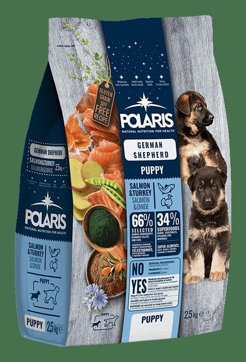 owczarek niemiecki szczeniak polaris karma tuńczyk indyk