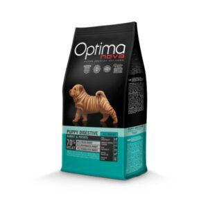 Optimanova Puppy Digestive Rabbit Potato